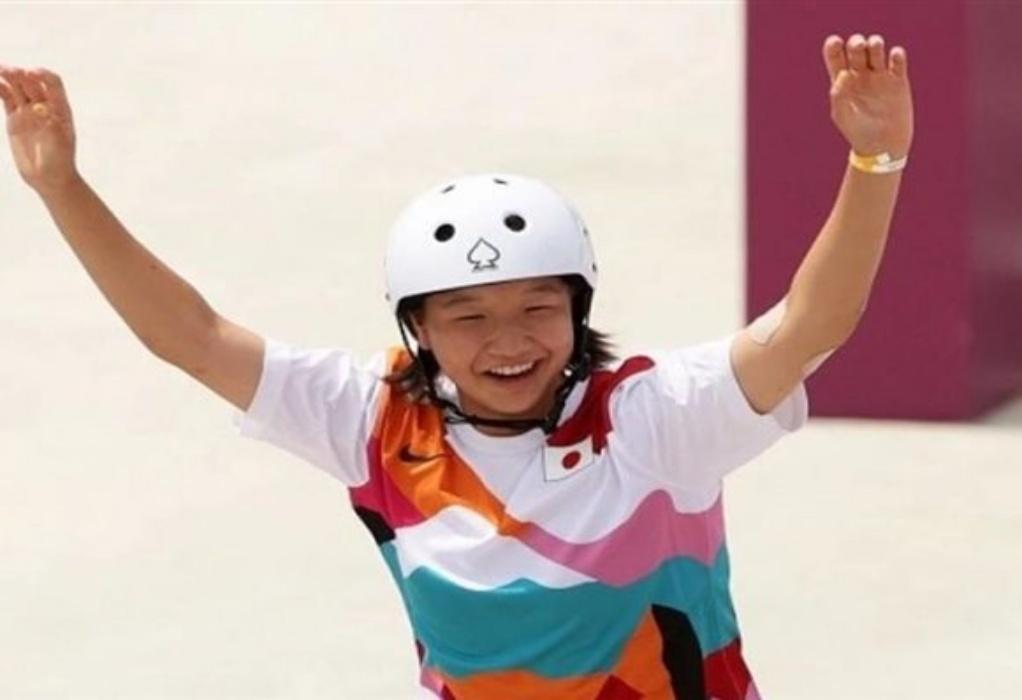 Ολυμπιακοί Αγώνες: Χρυσό μετάλλιο για την 13χρονη Μομίγι Νασίγια στο Street Σκέιτμπορντ