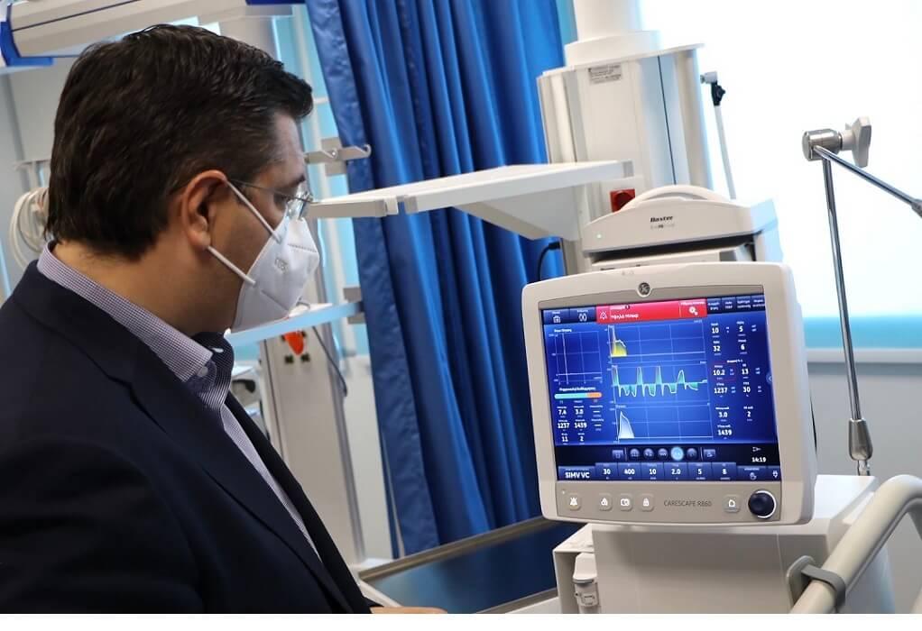 Απ. Τζιτζικώστας: Στην έναρξη λειτουργίας της νέας ΜΕΘ του Νοσοκομείου Βέροιας