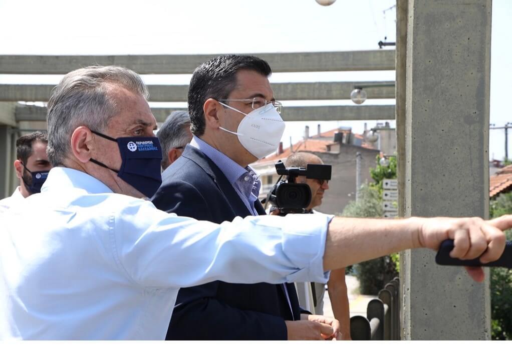 Απ. Τζιτζικώστας: Σε μεγάλο αντιπλημμυρικό έργο στις Σέρρες