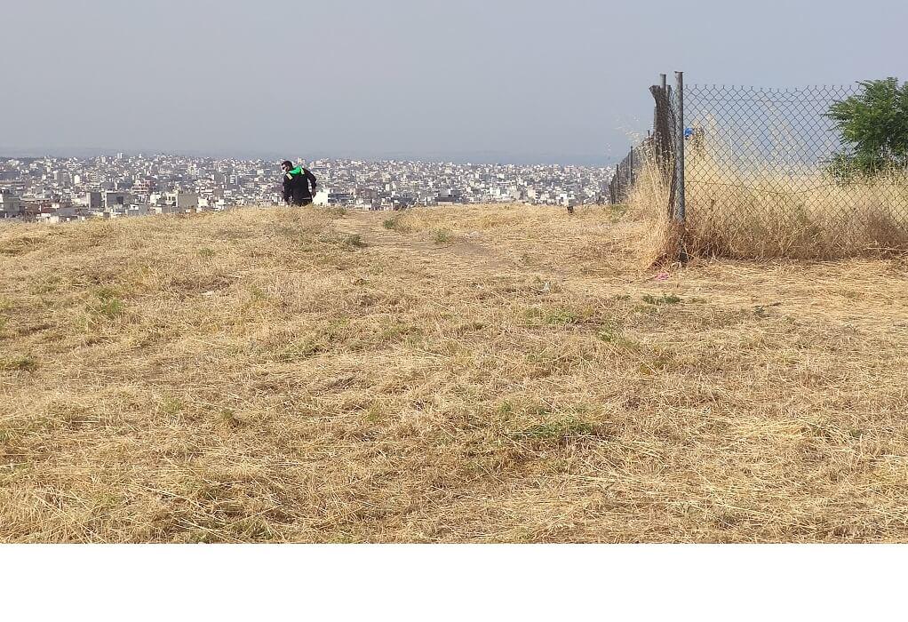Τούμπα: Δράση αντιπυρικής προστασίας γύρω από τον αρχαιολογικό χώρο