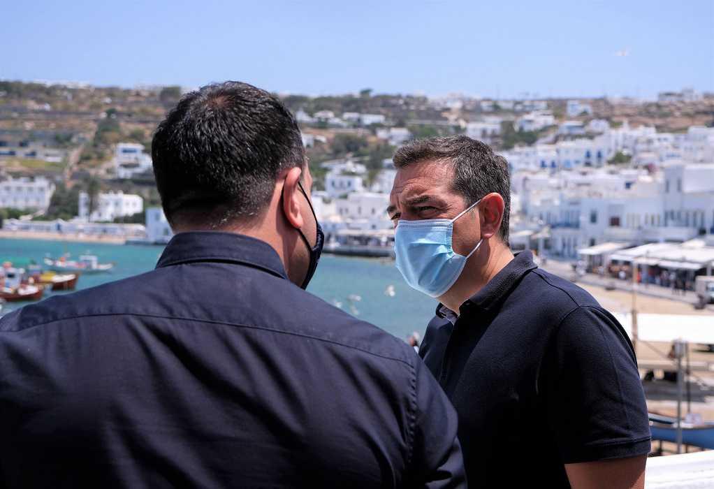 Τσίπρας: Να αναδείξουμε λύσεις για να αποφευχθούν οι πολύ αρνητικές συνέπειες του lockdown