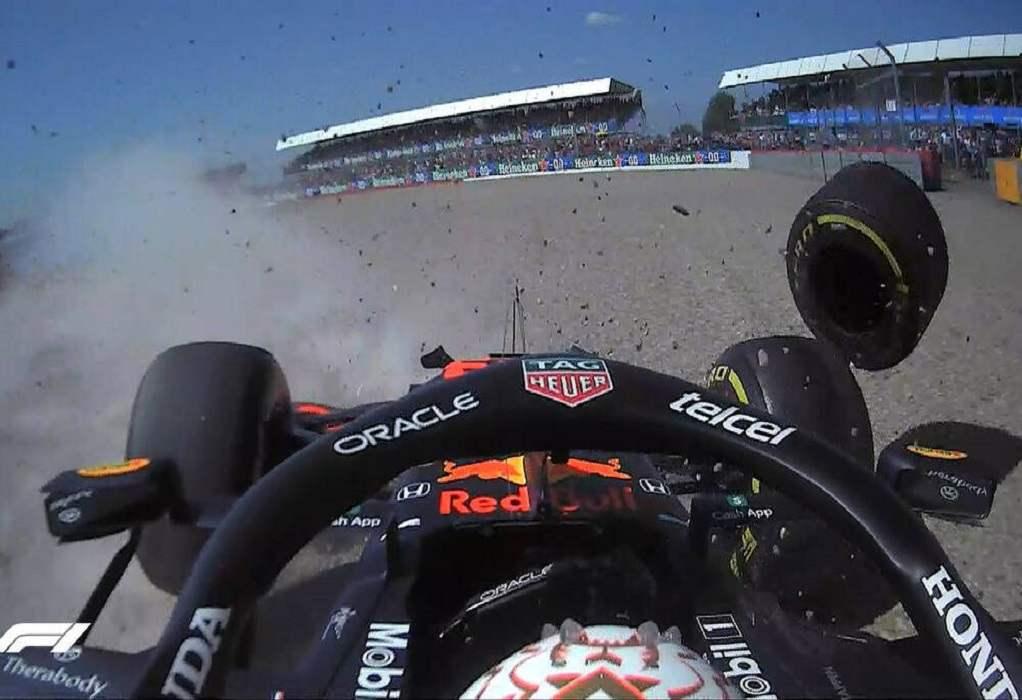 Formula 1: Τρομακτικό ατύχημα Φερστάπεν – Χάμιλτον στην έναρξη του αγώνα