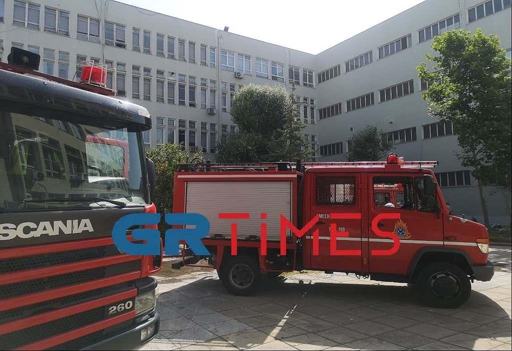Φωτιά – ΑΠΘ: Σημαντικές ζημιές στα εργαστήρια του τμήματος Ιατρικής (ΦΩΤΟ)