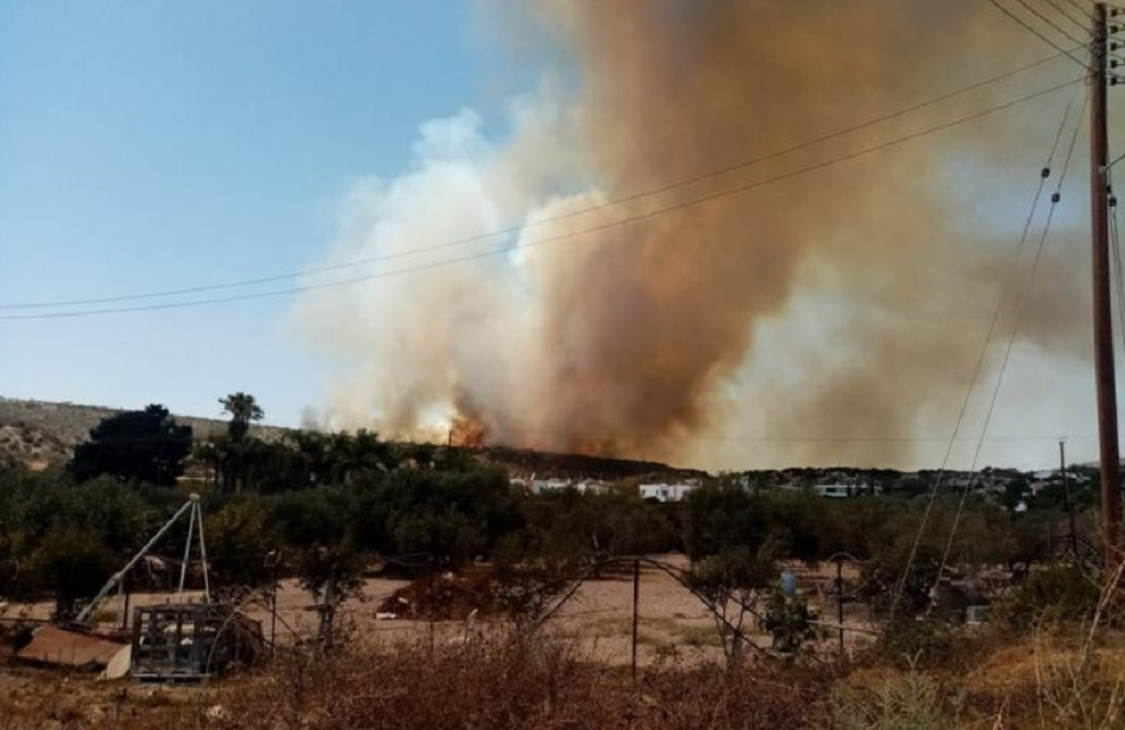 Μεγάλη φωτιά στην Κύπρο