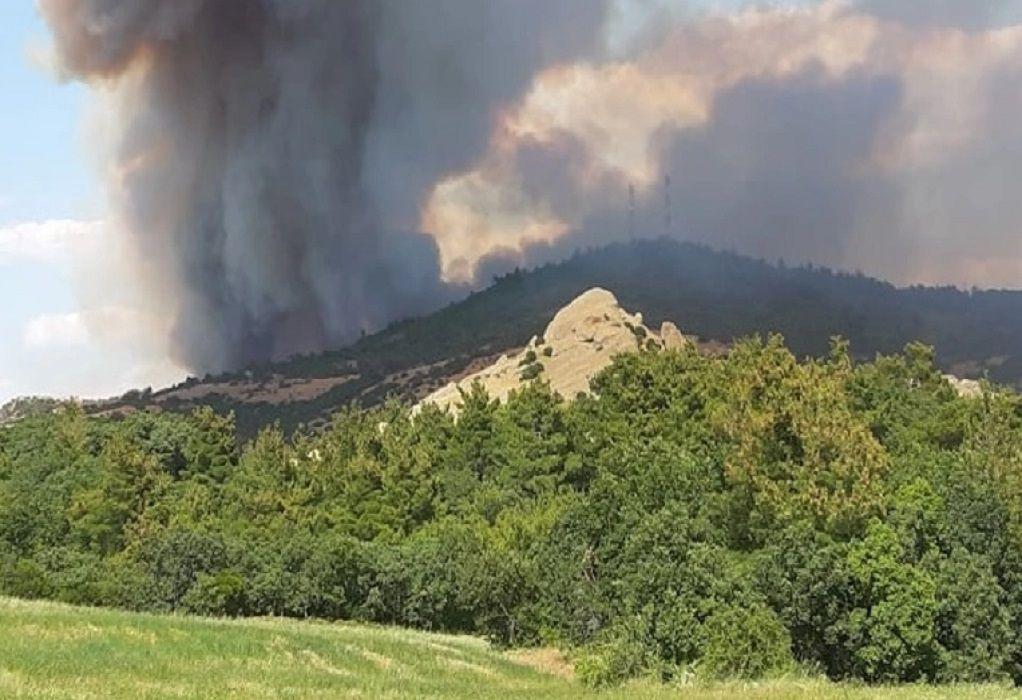 Έβρος: Καλύτερη εικόνα παρουσιάζει η φωτιά στη Λευκίμμη
