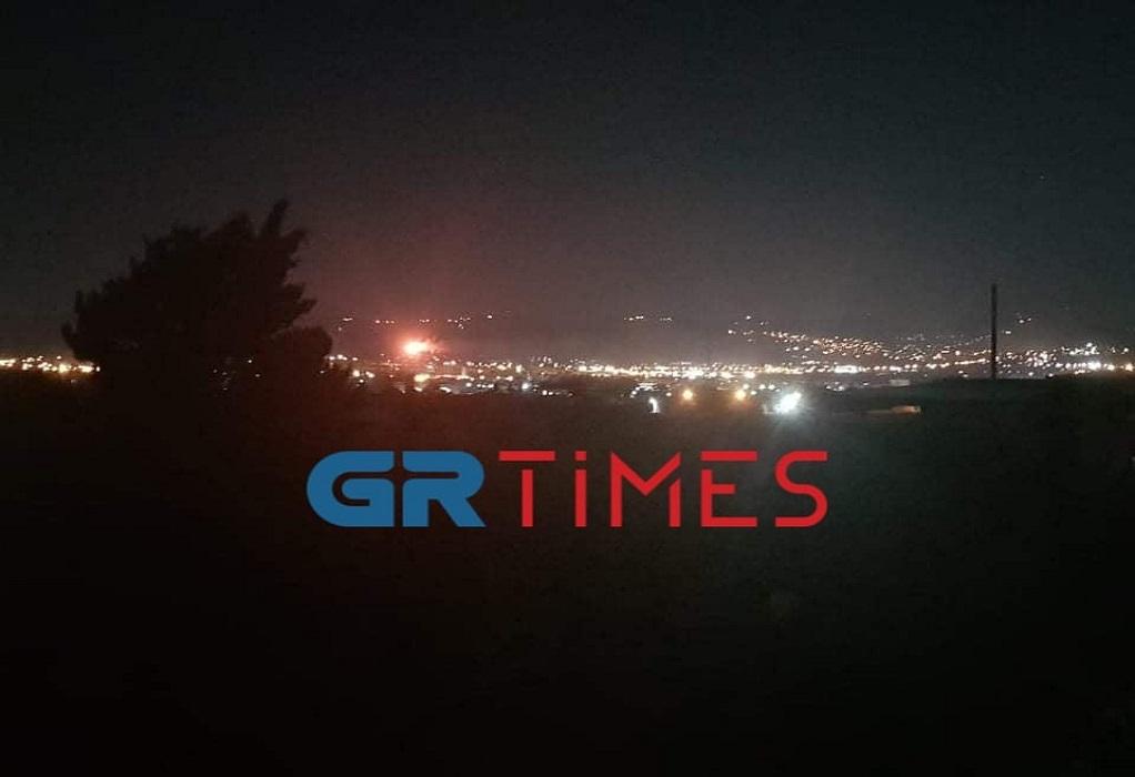 Θεσσαλονίκη: Φωτιά στη Νέα Ευκαρπία (ΦΩΤΟ-VIDEO)