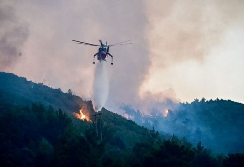 Υψηλός κίνδυνος πυρκαγιάς αύριο σε Σέρρες, Θεσσαλονίκη, Χαλκιδική