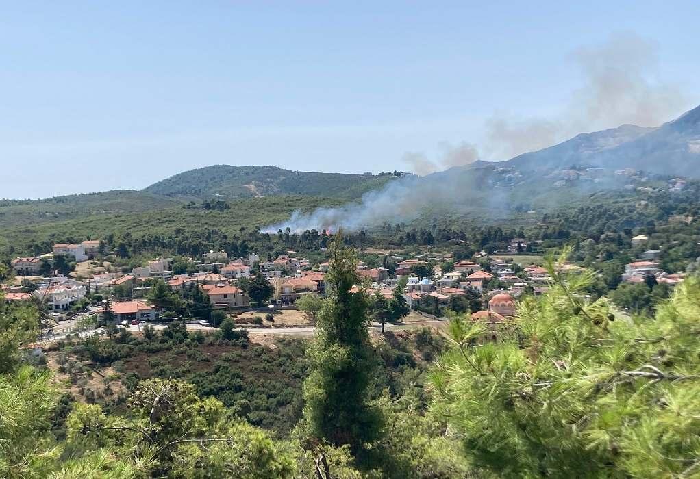 Αττική: Φωτιά στη Σταμάτα – Εκκενώνεται οικισμός – Μήνυμα από το 112