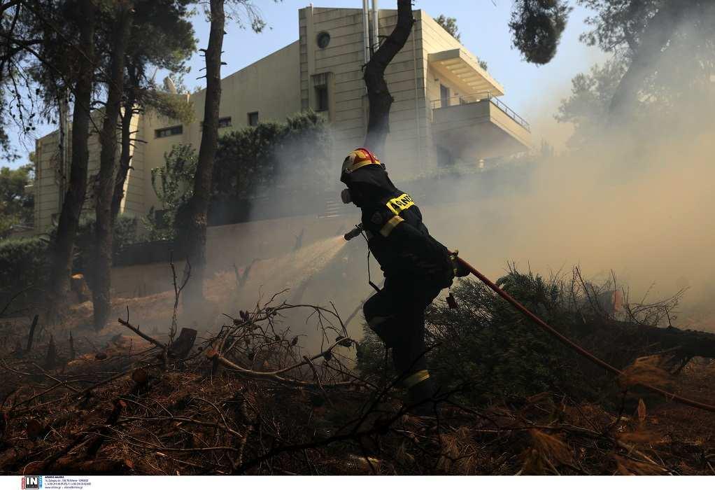 Φωτιά στη Σταμάτα: Εμπρησμό καταγγέλλει ο κοινοτάρχης Ροδόπολης