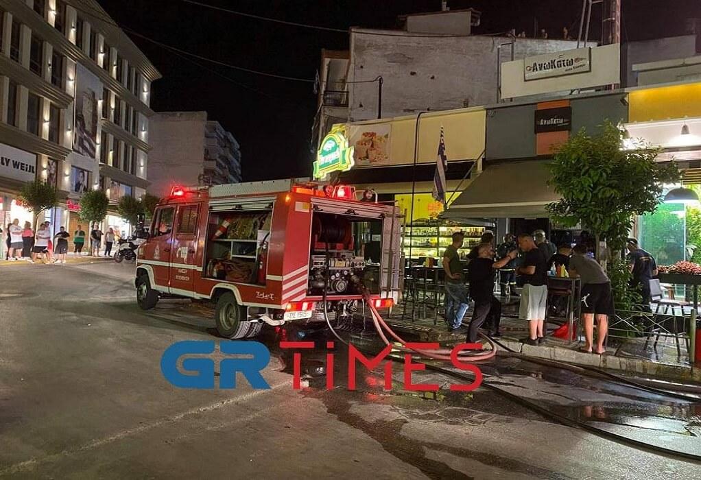 Θεσσαλονίκη: Φωτιά σε ψητοπωλείο στον Εύοσμο (ΦΩΤΟ-VIDEO)