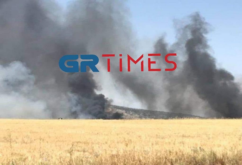 Θεσσαλονίκη: Φωτιά στο Ωραιόκαστρο (ΦΩΤΟ-VIDEO)