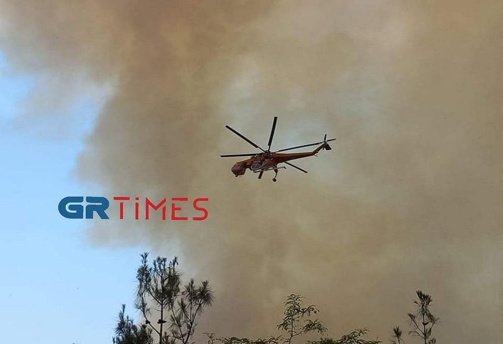 ΤΩΡΑ: Φωτιά στο Σέιχ Σου στη Θεσσαλονίκη – Στη μάχη καναντέρ και ελικόπτερα (ΦΩΤΟ-VIDEO)