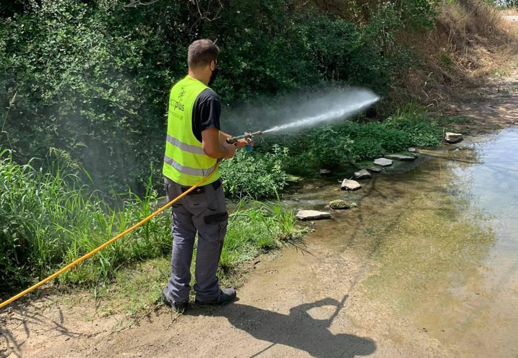 Σε εξέλιξη το πρόγραμμα καταπολέμησης κουνουπιών στο Δήμο Ωραιοκάστρου
