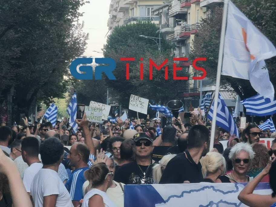 """Θεσσαλονίκη-ΕΛΑΣ: Επιχείρηση… ανεμβολίαστοι στη ΔΕΘ-Ο μεγάλος """"πονοκέφαλος"""""""