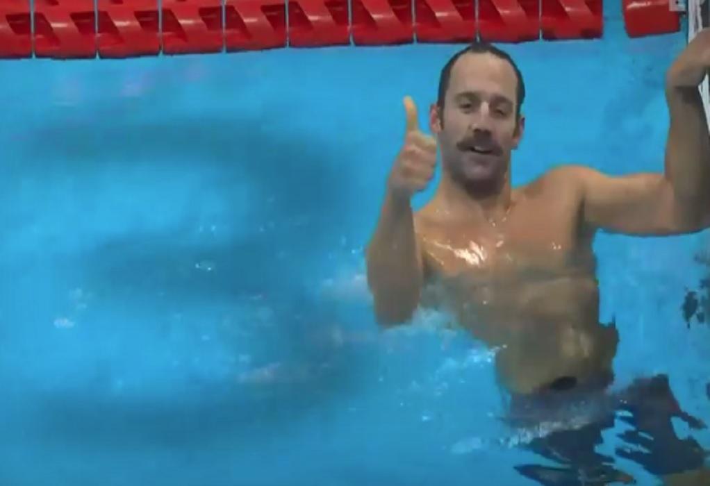 Λ. Αυγενάκης για Α. Τσαπατάκη: Θερμά συγχαρητήρια στον Παραολυμπιονίκη κολυμβητή μας