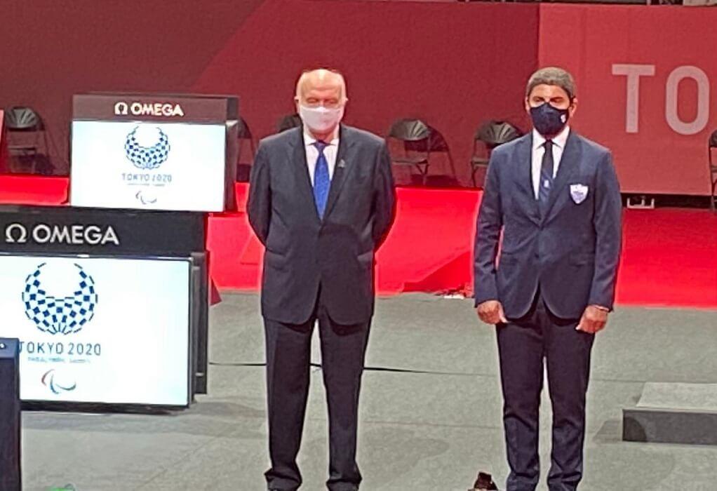 Παραολυμπιακοί Αγώνες: Ο Λ. Αυγενάκης απένειμε τα μετάλλια στους ξιφομάχους