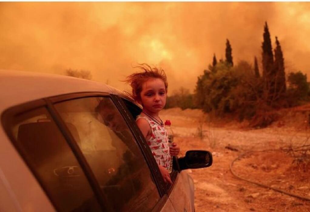 Φωτιά στην Εύβοια: Όταν η Βαλεντίνα συγκλόνισε το πανελλήνιο