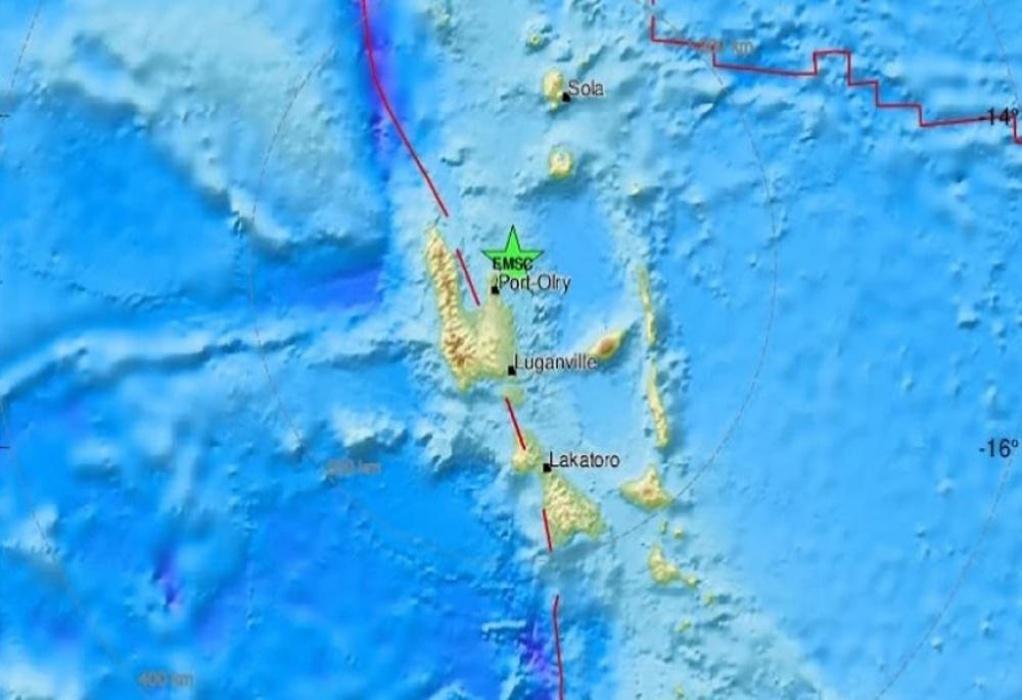 Σεισμός 6,8 Ρίχτερ στο αρχιπέλαγος Βανουάτου