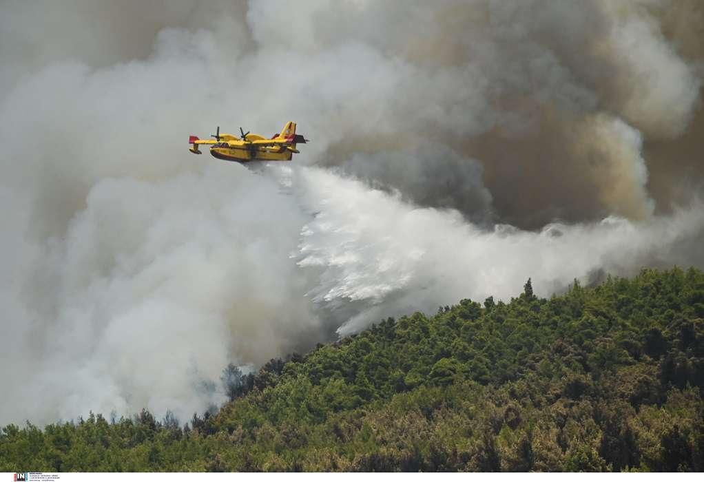 Φωτιά στη Βαρυμπόμπη: Έλεγχο από τις εισαγγελικές αρχές ζητάει δικηγόρος