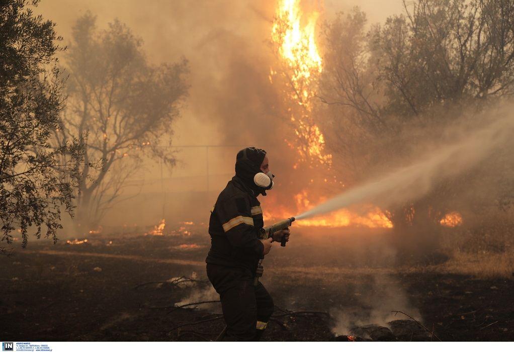 Υψηλός κίνδυνος πυρκαγιάς σήμερα Πέμπτη για 4 Περιφέρειες