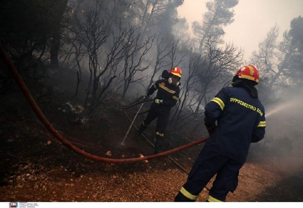 Φωτιά στο Ωραίο Ξάνθης – Μεγάλη κινητοποίηση της Πυροσβεστικής