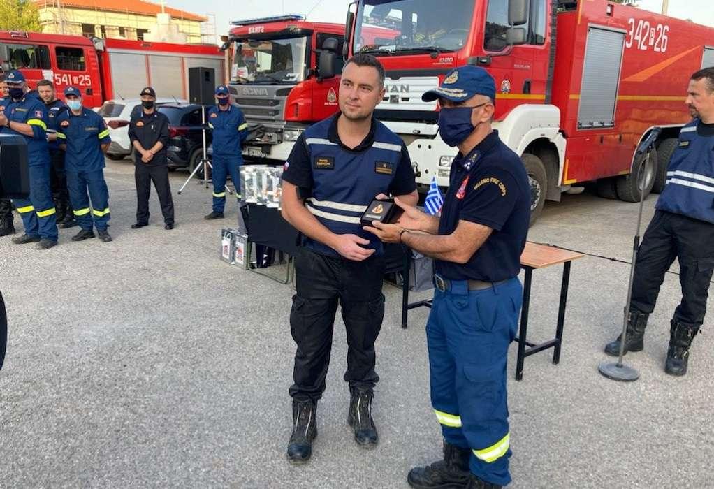 Βραβεύτηκαν οι Πολωνοί για την τεράστια συμβολή στην πυρκαγιά