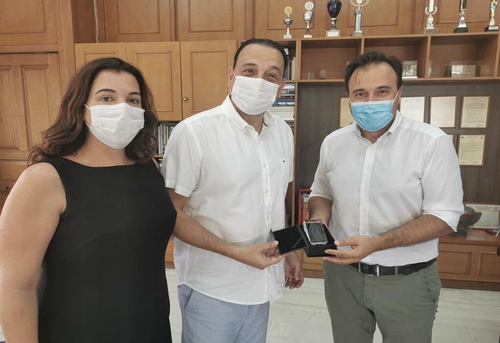 Στα Τρίκαλα Βραζιλιάνος δήμαρχος-Συναντήθηκε με τον Παπαστεργίου