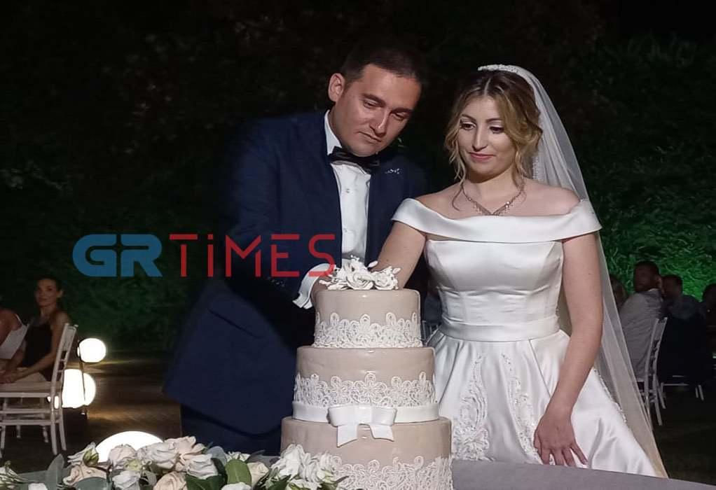 Παντρεύτηκαν ο Νάσος Διαλυνάς και η Αιμιλία Ξανθοπούλου (ΦΩΤΟ)