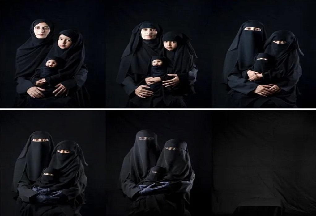 Η ιστορία πίσω από τη viral φωτογραφία μαμάς και κόρης με μαντίλα