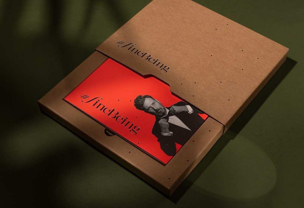 #FineBeing: Το βιβλίο του Γιώτη Αγγελίδη