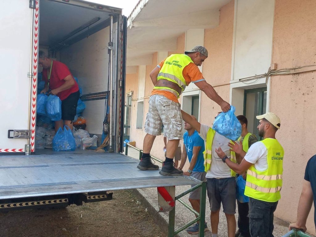 Δ. Αμπελοκήπων-Μενεμένης: Παραδόθηκε η Βοήθεια στους πυρόπληκτους