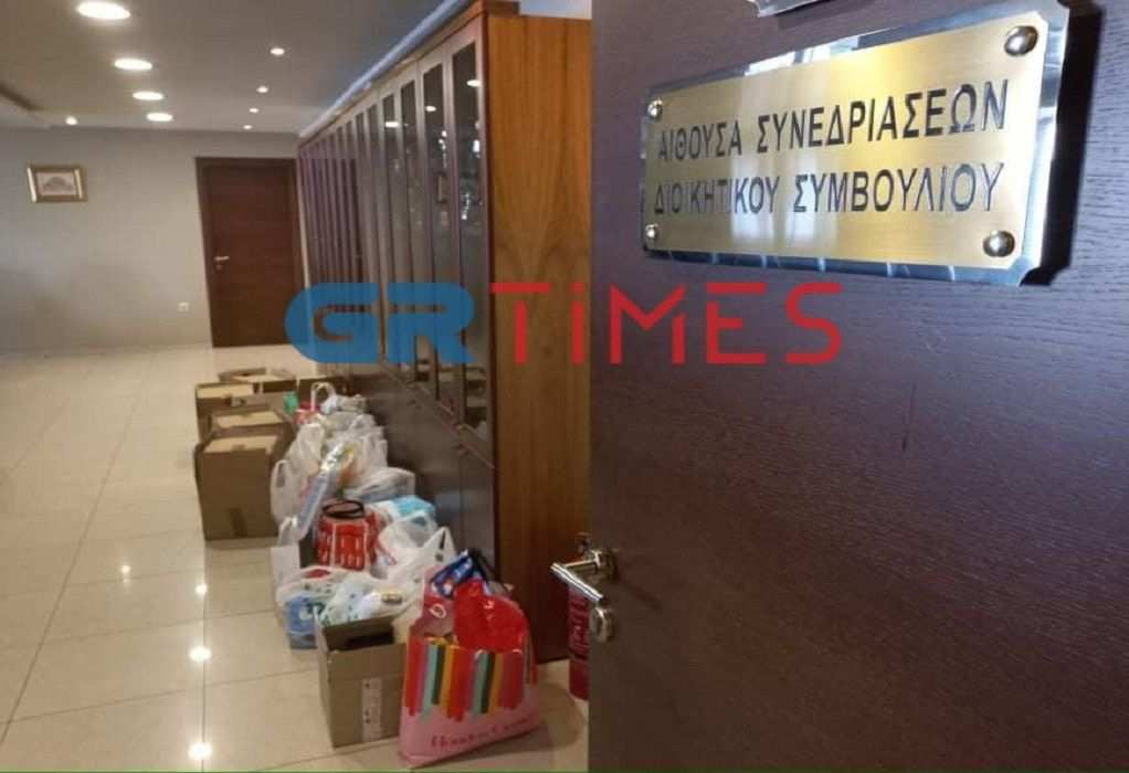Θεσσαλονίκη: Δικηγόροι στο πλευρό των πυρόπληκτων (ΦΩΤΟ)
