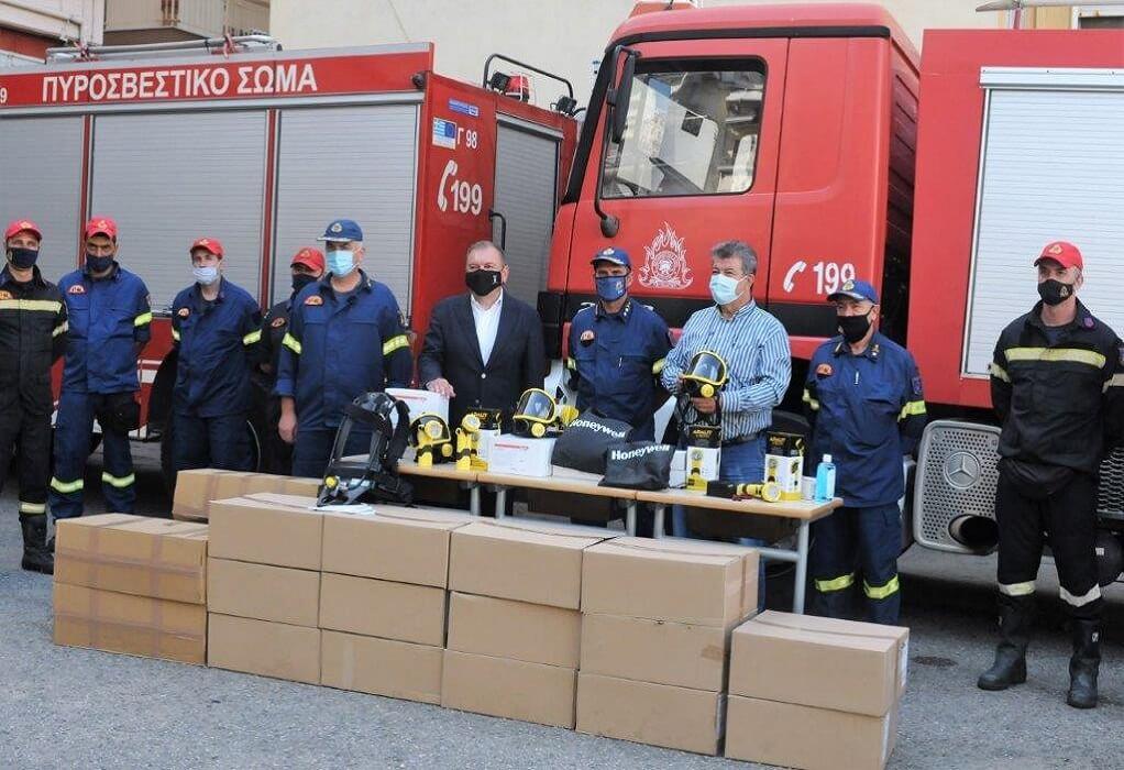 ΠΕΔΚΜ: Δωρεά εξοπλισμού στη Διοίκηση Πυροσβεστικών Υπηρεσιών Θεσσαλονίκης