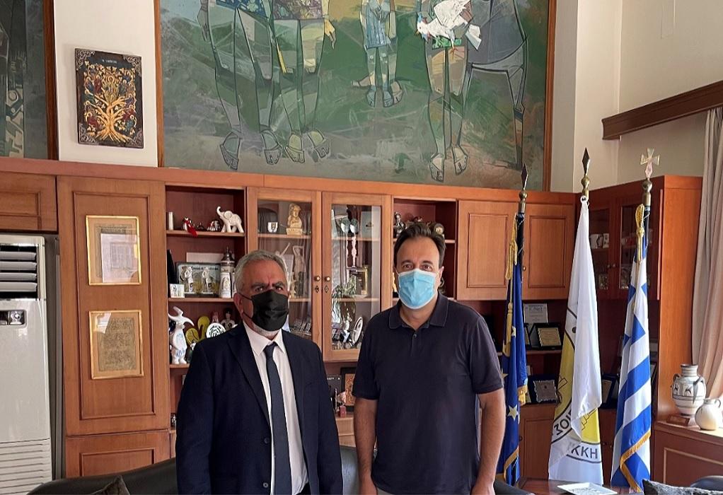 Συνάντηση της ΕΔΑ ΘΕΣΣ με τον πρόεδρο της ΚΕΔΕ