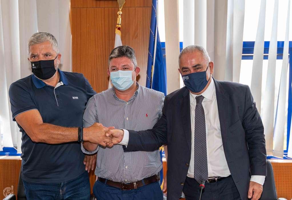 To E.E.A. στην πυρόπληκτη περιοχή των Αχαρνών για την ενίσχυση των πληγέντων επιχειρήσεων