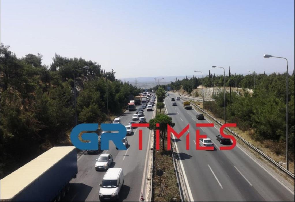 Θεσ/νίκη: Μποτιλιάρισμα και καθυστερήσεις στην Περιφερειακή Οδό (ΦΩΤΟ-VIDEO)