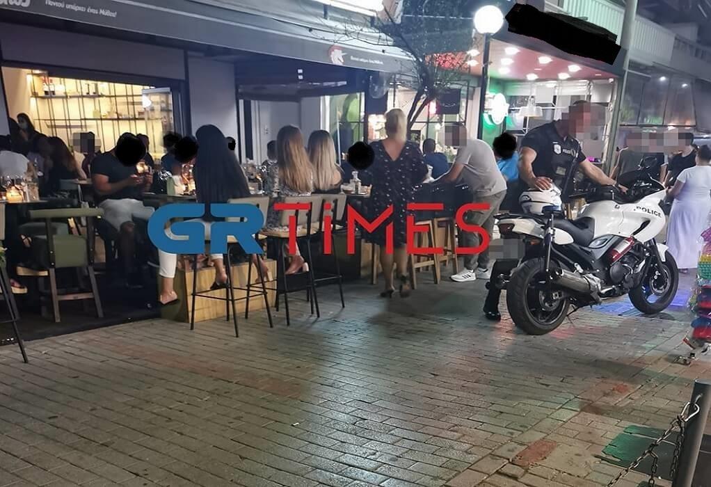 Θεσσαλονίκη: Βγήκε μαχαίρι σε καφέ – μπαρ στον Εύοσμο (ΦΩΤΟ)