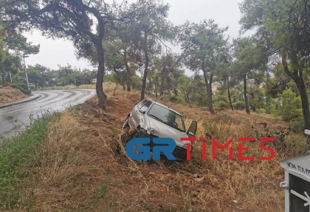 Θεσσαλονίκη: Συγκρούσεις, εκτροπές ΙΧ και μποτιλάρισμα εξαιτίας της βροχής (ΦΩΤΟ)