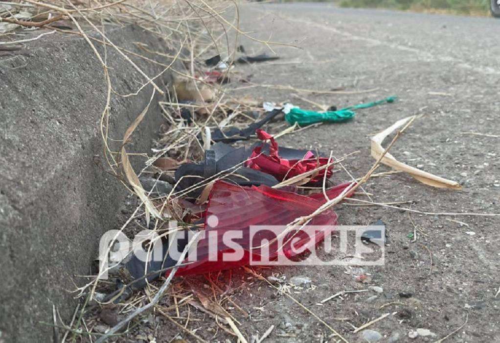 Tροχαίο στην Ηλεία: Νεκρός 54χρονος οδηγός μηχανής (VIDEO)