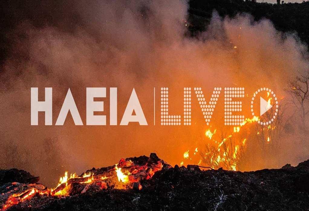 Φωτιά στην Κορυφή Πύργου – Ακούστηκαν εκρήξεις (ΦΩΤΟ – VIDEO)