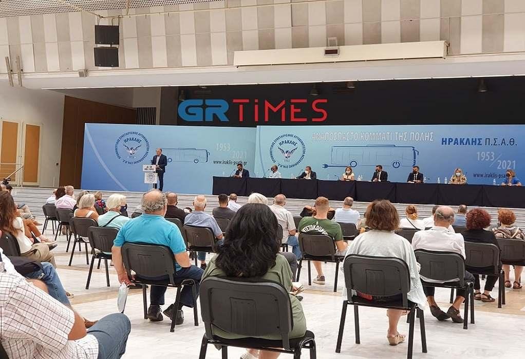 """Θεσσαλονίκη: Ο """"Ηρακλής"""" θέλει συμψηφισμό οφειλομένων στον ΟΑΣΘ,  με συγκοινωνιακό έργο (VIDEO)"""