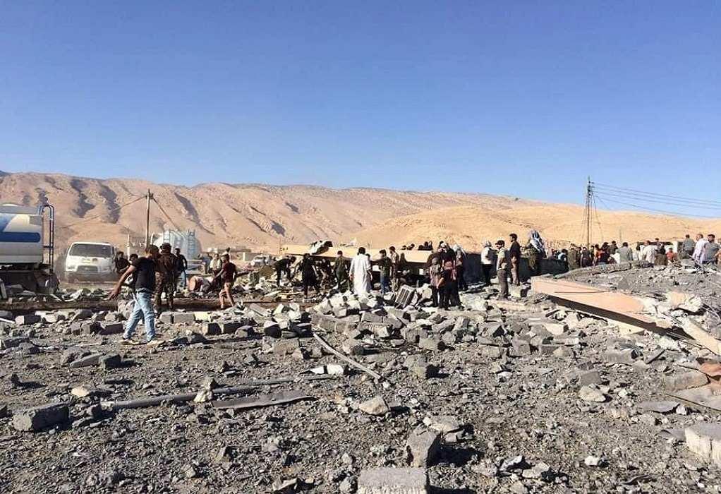 Ιράκ: Σε 8 ανήλθε ο απολογισμός των νεκρών από την αεροπορική επιδρομή της Τουρκίας