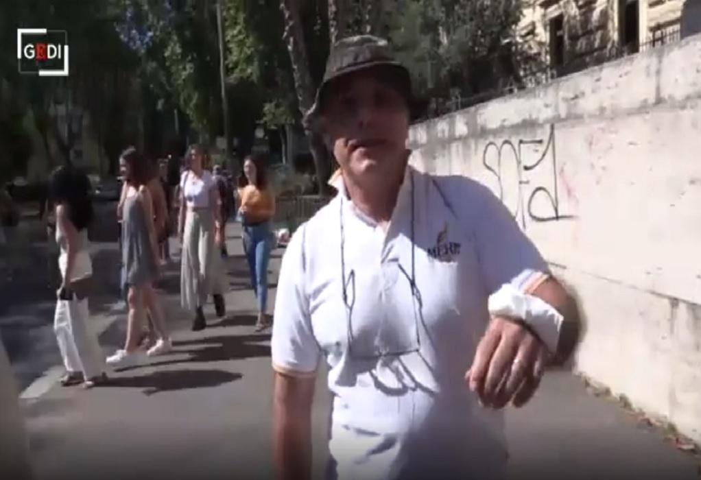 Ιταλία: Δημοσιογράφος δέχθηκε επίθεση από αντιεμβολιαστή εργαζόμενο σε σχολείο