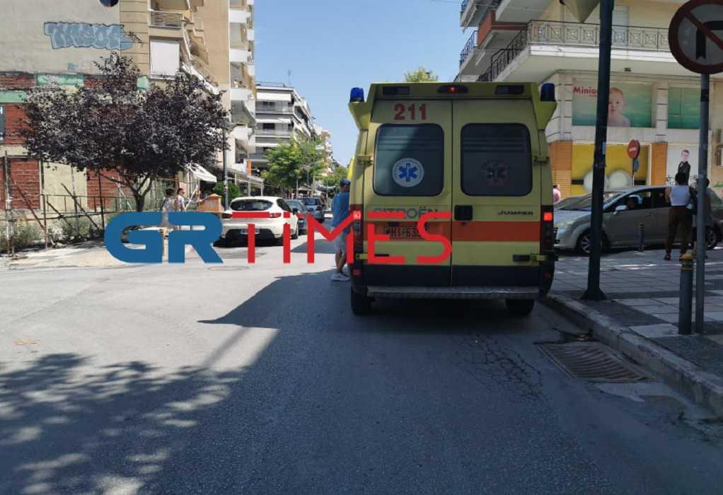 Θεσσαλονίκη: Έπεσε από μπαλκόνι και τραυματίστηκε (ΦΩΤΟ)
