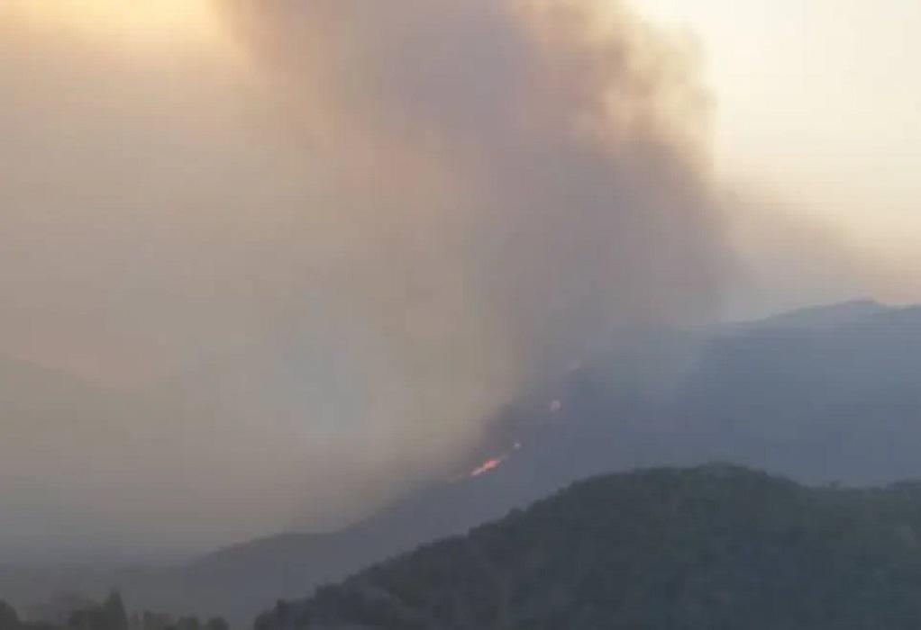 Μεσσηνία: Εκκενώνονται οι οικισμοί Μέλπεια και Διαβολίτσι- Καίγονται σπίτια στο Καρνάσι