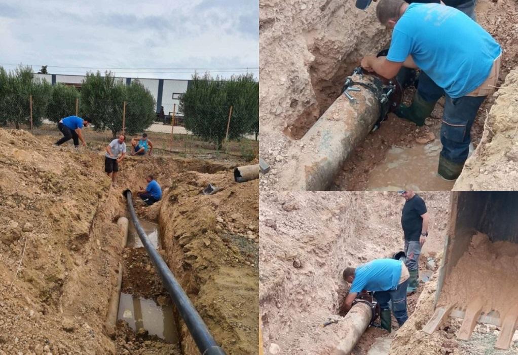 Καλύβες Πολυγύρου: Διαμαρτυρίες για τη διακοπή νερού – Τι λέει ο δήμος