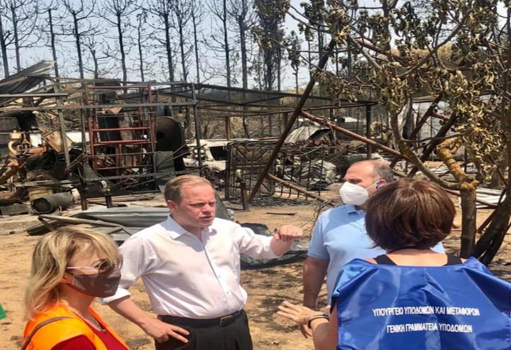 Καραμανλής για την καταστροφή στη Βαρυμπόμπη – «Εικόνες που προκαλούν οδύνη»