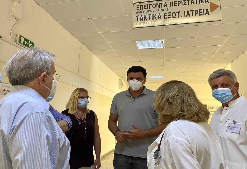 Κικίλιας από Σισμανόγλειο: Στο νοσοκομείο 77 άτομα λόγω φωτιάς και καύσωνα