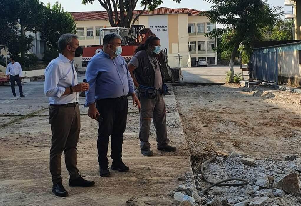 Δ. Θεσσαλονίκης: Άρχισαν τα έργα για την ενεργειακή αναβάθμιση των σχολείων της Κλεάνθους