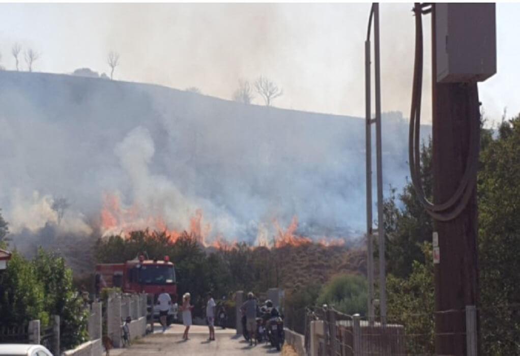 Υπό έλεγχο τέθηκε η πυρκαγιά στην Κω